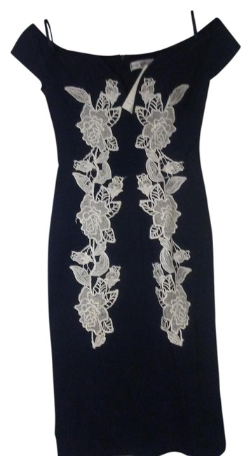 Preload https://img-static.tradesy.com/item/22029223/rare-london-navy-blue-and-white-plunge-pencil-mid-length-night-out-dress-size-4-s-0-1-650-650.jpg