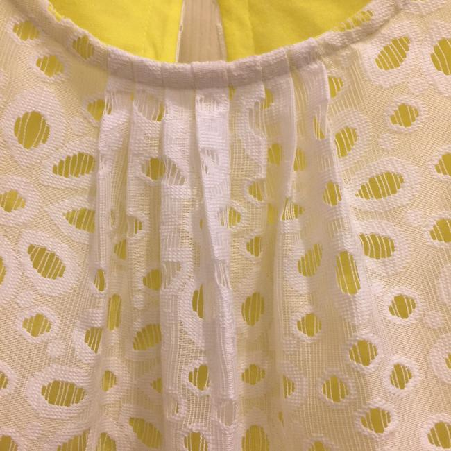 Banana Republic Top white/yellow lining