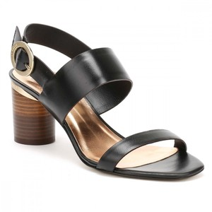 Ted Baker Heel Sandal Leather Black Pumps