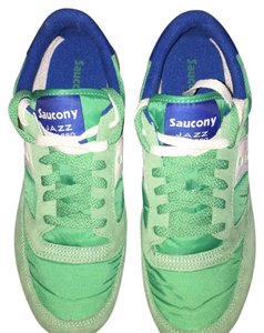 Saucony GREEN/WHITE Athletic