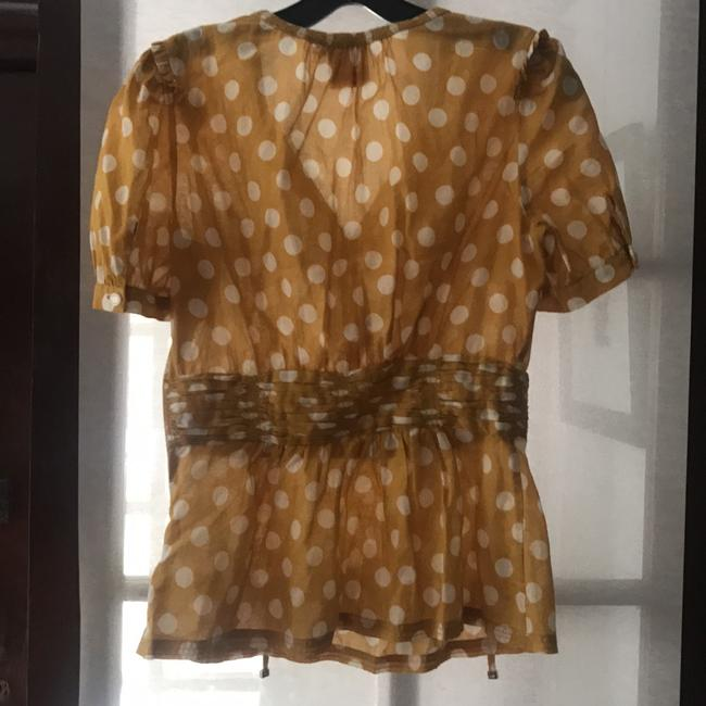Tory Burch Top Yellow/cream