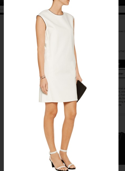 Vince Sleeveless Faux Leather Dress