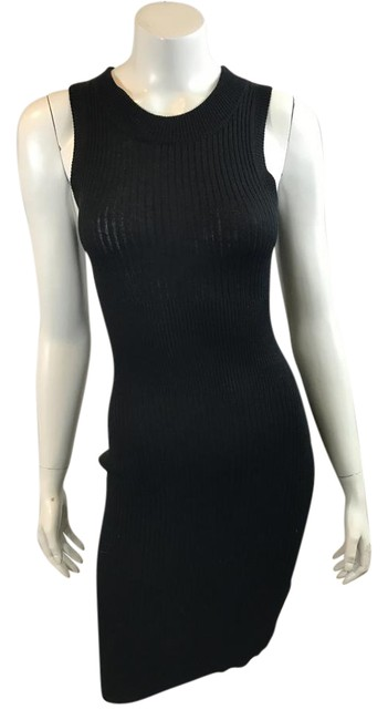 Preload https://img-static.tradesy.com/item/22029655/atm-black-11617-ribbed-silk-cashmere-blend-fitted-knit-mid-length-cocktail-dress-size-2-xs-0-1-650-650.jpg