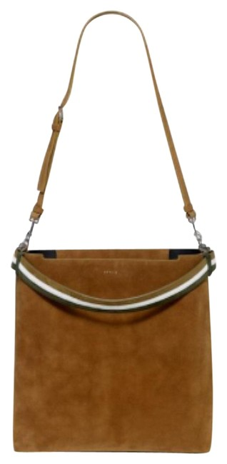 Item - Bucket Urban Camel Suede Leather Tote