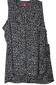 Vince Camuto Top Black & White