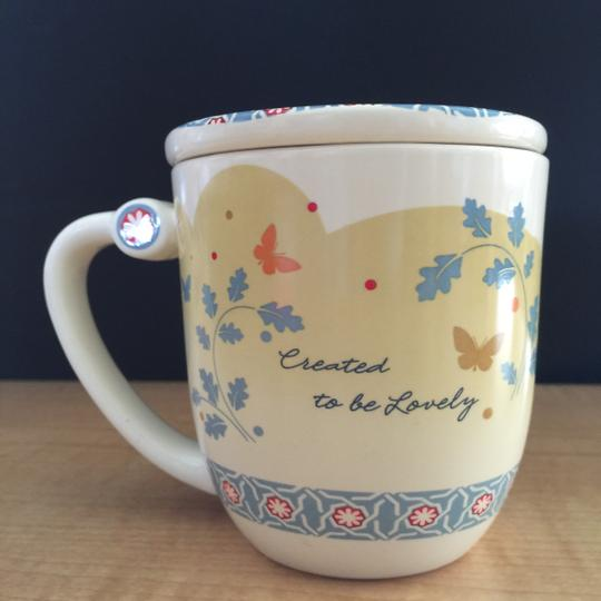 """DaySpring Lidded Mug; Psalms 24:1 """"The Earth Is the Lords..."""" [ MissSundayBest Closet ]"""
