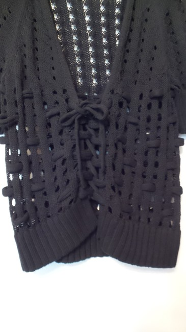 Anthropologie Knitted Knotted Openwork Cardigan