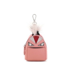 Fendi micro monster mini backpack bag charm keychain