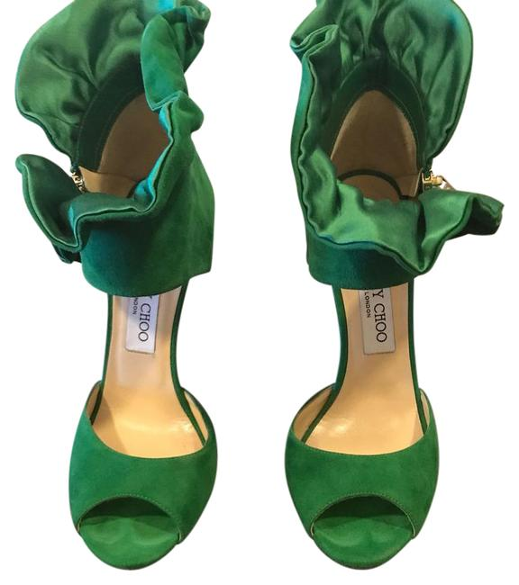 Item - Green Formal Shoes Size US Regular (M, B)