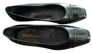 Amalfi Italy Made In Italy Leather Italy Leather black Pumps