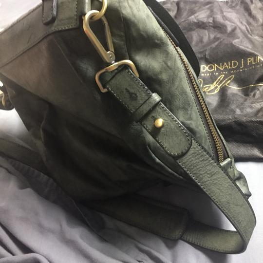 Donald J. Pliner Green Messenger Bag