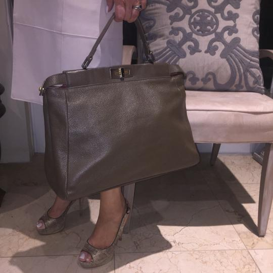 Fendi Satchel in Olive Green