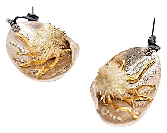 Preload https://img-static.tradesy.com/item/22030741/rose-gold-clam-shell-drop-post-with-coralcrystal-earrings-0-1-540-540.jpg