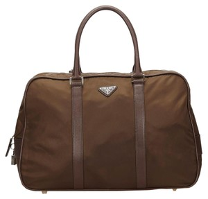 Prada 7gprdb005 Brown Travel Bag