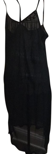 Preload https://img-static.tradesy.com/item/22031015/michael-kors-black-with-check-sleeves-mid-length-short-casual-dress-size-16-xl-plus-0x-0-1-650-650.jpg