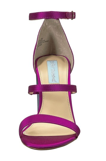 Betsey Johnson Wedge Pink Pumps