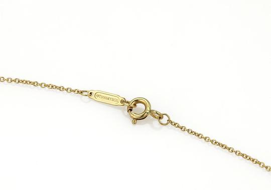 Tiffany & Co. NOTES 18k Yellow Gold Letter