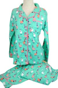 Munki Munki Flannel Pjs Pajamas New With Tags Jacket