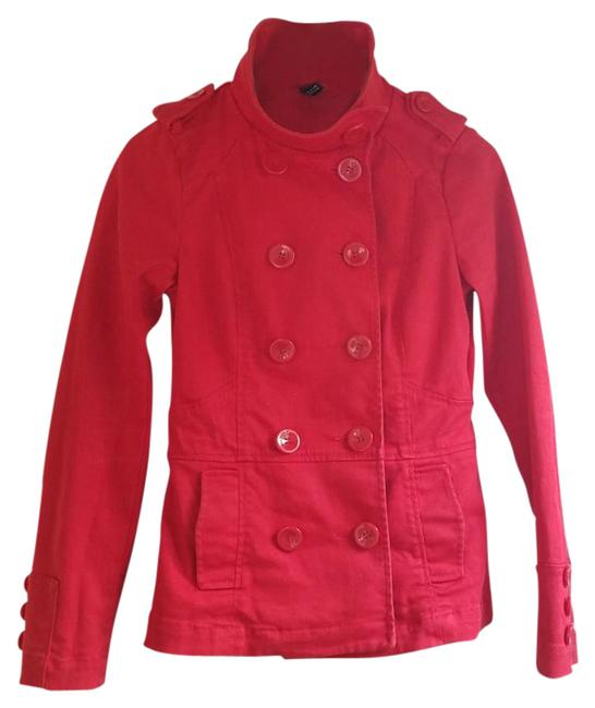 Preload https://img-static.tradesy.com/item/22031203/divided-by-h-and-m-red-spring-jacket-size-6-s-0-1-650-650.jpg