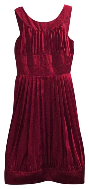 Preload https://img-static.tradesy.com/item/22031303/moschino-burgundy-or-red-crepe-bow-waist-formal-short-cocktail-dress-size-6-s-0-8-650-650.jpg
