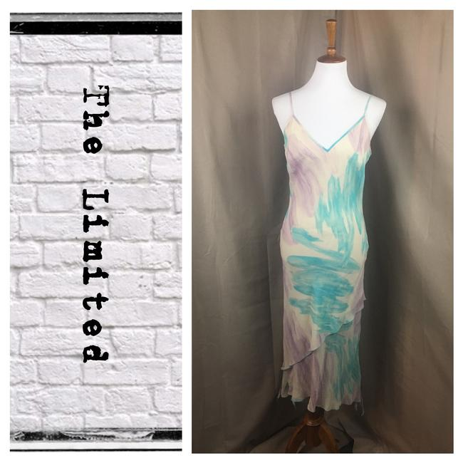 Preload https://img-static.tradesy.com/item/22031357/the-limited-multi-color-water-color-strappy-v-neck-silk-maxi-long-cocktail-dress-size-8-m-0-0-650-650.jpg