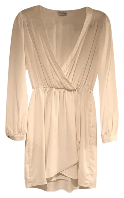Item - White Demri Mid-length Night Out Dress Size 4 (S)