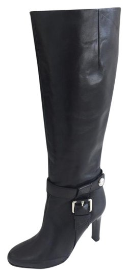 Preload https://img-static.tradesy.com/item/22031445/karen-millen-black-knee-high-leather-with-buckle-detail-bootsbooties-size-eu-37-approx-us-7-regular-0-1-540-540.jpg