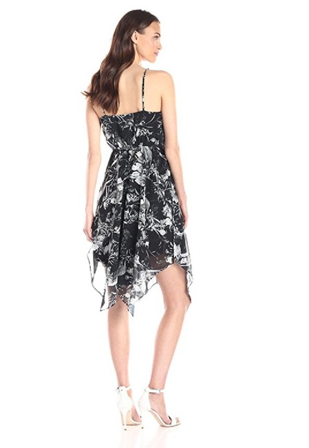 Twelfth St. by Cynthia Vincent short dress black Handkerchief Asymmetrical on Tradesy