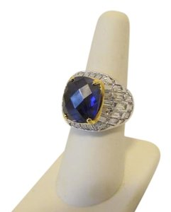Real Collectibles by Adrienne Real Collectibles by Adrienne 14.86ctw CZ Tanzanite-Color Ring 7