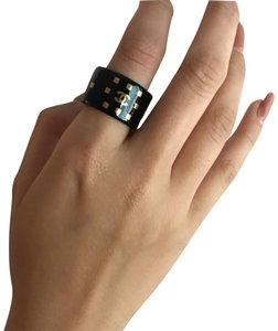 Chanel Chanel Resin Band Ring