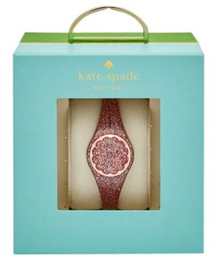 Kate Spade kate spade rose gold-tone and rose gold scallop activity tracker