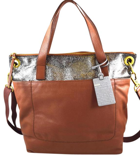 Item - Keely Brown Multi Leather Tote