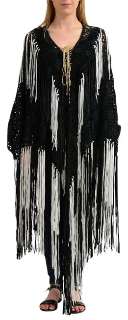 Preload https://img-static.tradesy.com/item/22032764/just-cavalli-multi-color-knitted-women-s-sweater-ponchocape-size-4-s-0-1-650-650.jpg