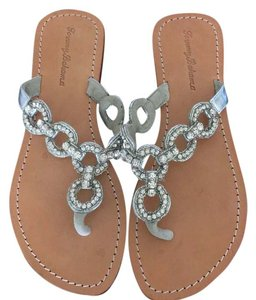Tommy Bahama metallic Sandals