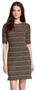 Cynthia Steffe short dress brown on Tradesy
