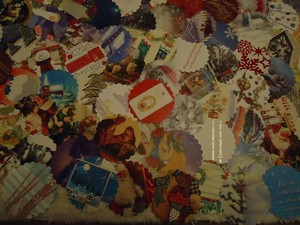 Multicolor 100 Winter Theme Wishing Or Escort Tags Or As Drink Coasters Reception Decoration