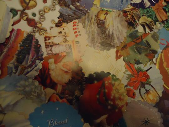 Multicolor 100 Winter Theme Wishing Or Escort Tags Or As Drink Coasters Reception Decoration Image 2