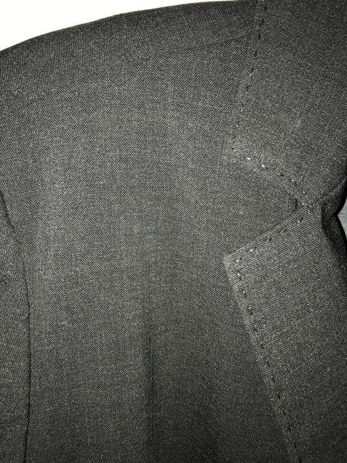 J.Crew Charcoal Grey Tailored Suit Jacket Blazer Size 2 (XS) J.Crew Charcoal Grey Tailored Suit Jacket Blazer Size 2 (XS) Image 2