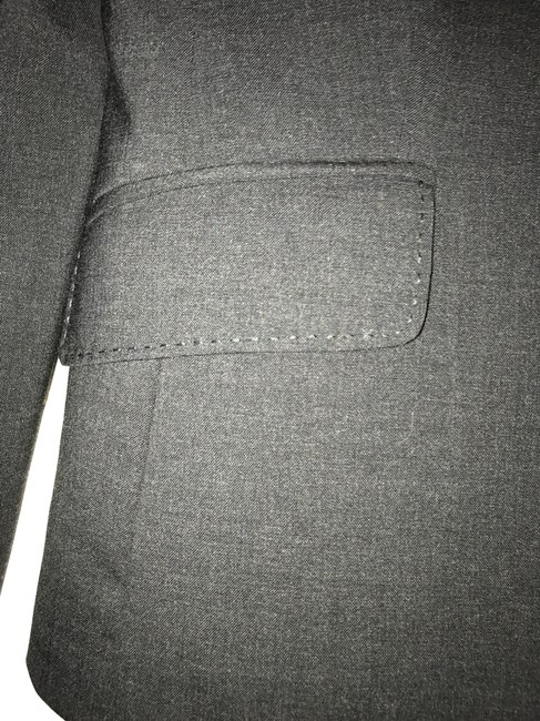 J.Crew Charcoal Grey Tailored Suit Jacket Blazer Size 2 (XS) J.Crew Charcoal Grey Tailored Suit Jacket Blazer Size 2 (XS) Image 3