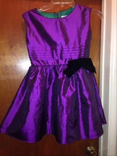American Girl Purple Flower Girl Or Jr Bridesmaid Dress Dress