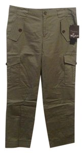 Marc by Marc Jacobs Cropped Limited Edition Army Cargo Pants Olive Green