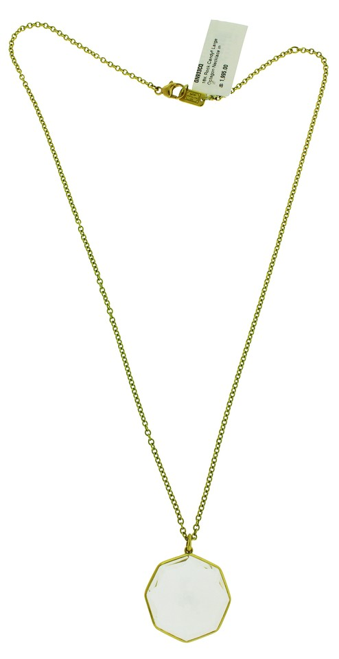 premiere neck curb emboss necklace b american octagon medical red id pendant symbol premier gold style