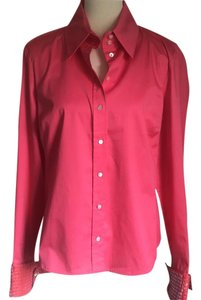 6943e6427018c Magaschoni Holiday Sequins Top NWT Rose Coral