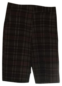 Raviya Plaid Bermuda Shorts Purple