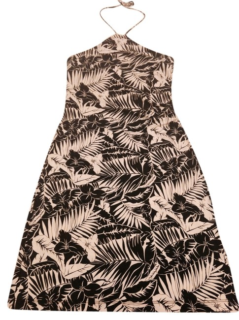 Preload https://item1.tradesy.com/images/bcbgmaxazria-black-and-white-knee-length-cocktail-dress-size-8-m-2203465-0-0.jpg?width=400&height=650