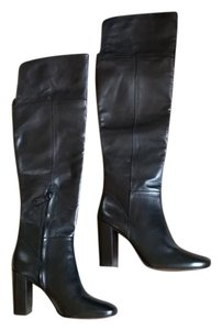 Tory Burch Devon Devon Knee High Black Boots