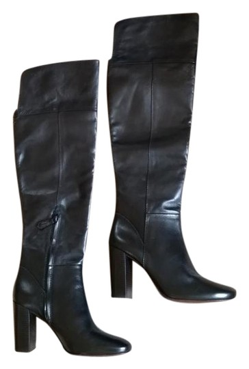 Tory Burch Devon Devon Knee High Black Boots Image 0