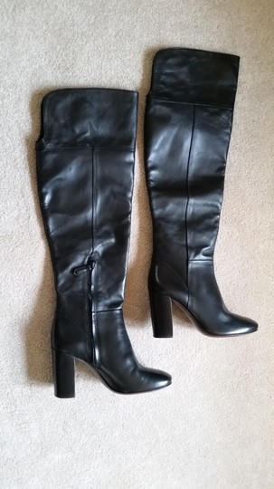 Tory Burch Devon Devon Knee High Black Boots Image 10