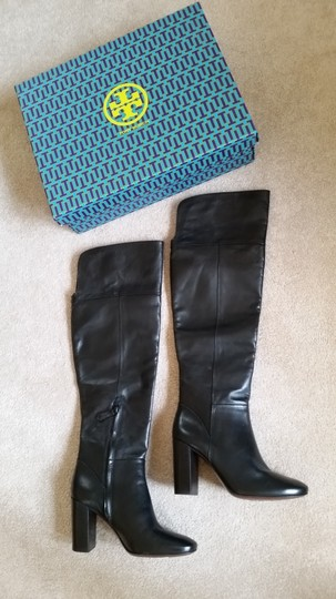 Tory Burch Devon Devon Knee High Black Boots Image 2