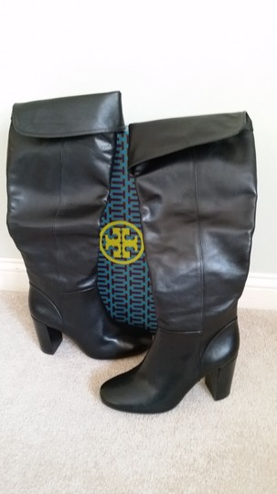 Tory Burch Devon Devon Knee High Black Boots Image 6